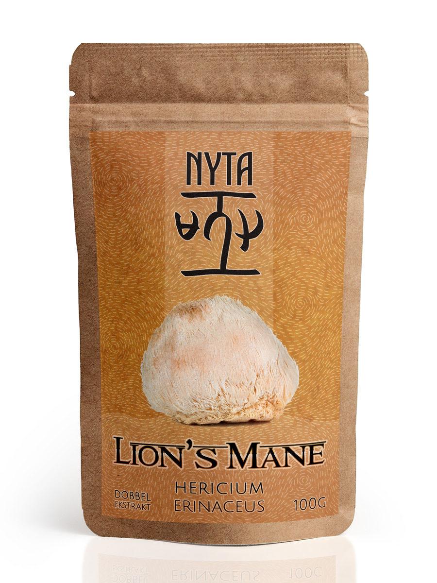 Kjøp Lion's Mane ekstrakt hos Nyta