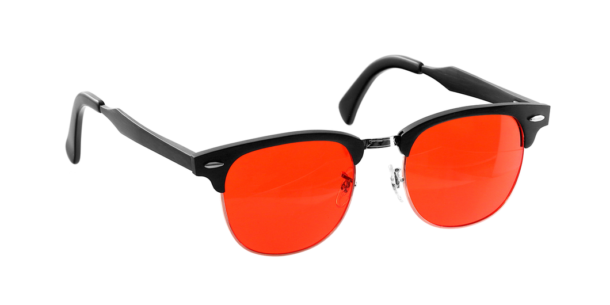Carbonshade Clubmaster – Blue-blocking Briller 4